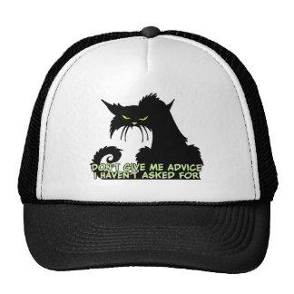 El decir del consejo del gato negro gorra