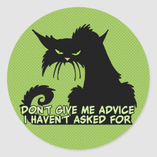 El decir del consejo del gato negro