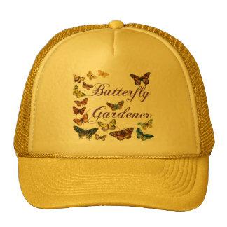 El decir del jardinero de la mariposa gorro de camionero