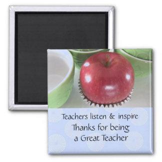 El decir del profesor de Apple Imán Para Frigorífico