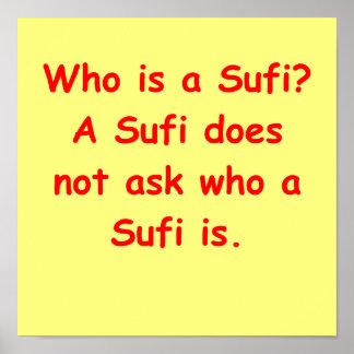 el decir del sufi poster