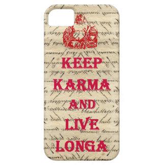 El decir divertido de Buda iPhone 5 Case-Mate Cobertura