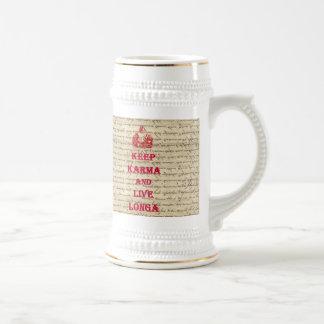 El decir divertido de Buda Tazas De Café