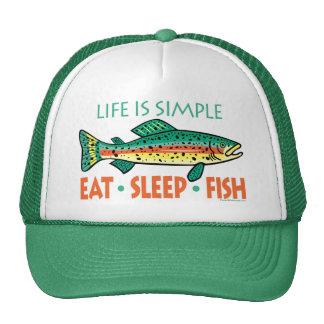 El decir divertido de la pesca gorra