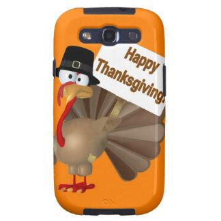 """El decir divertido de Turquía: ¡""""Acción de gracias Galaxy S3 Protector"""