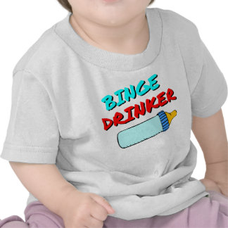 El decir divertido del bebé camisetas