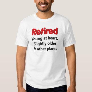 El decir divertido del retiro camisas