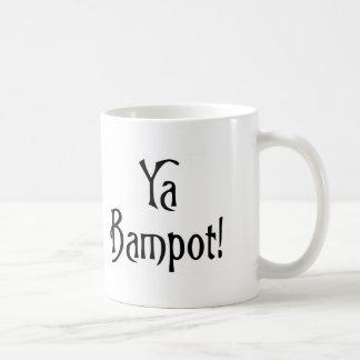 El decir escocés divertido del argot de Ya Bampot Taza Clásica