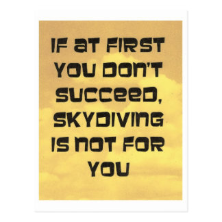 el decir skydiving postal