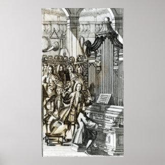 El decreto del órgano póster