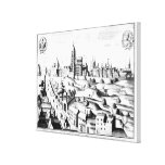 El Defenestration de Praga, el 3 de agosto de 1618 Impresiones De Lienzo