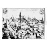 El Defenestration de Praga, el 3 de agosto de 1618 Tarjeta De Felicitación