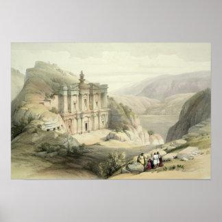 EL Deir, Petra Póster