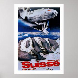 El ~ del En Suisse de Venez viene a Suiza Posters