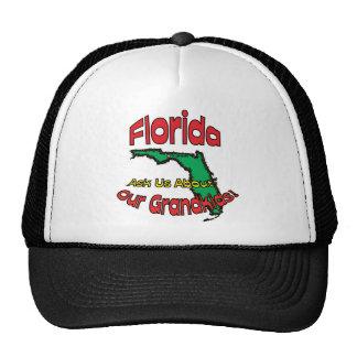 ¡El ~ del lema de la Florida FL nos pregunta acerc Gorras De Camionero