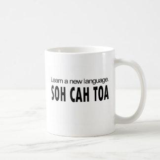 El _del TOA de SOH CAH aprende una nueva lengua Taza