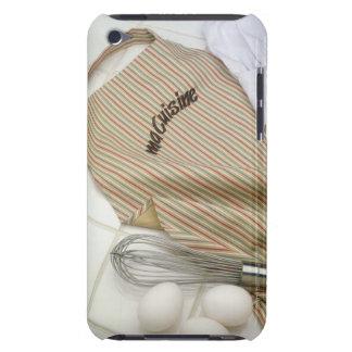 El delantal con los huevos y bate Case-Mate iPod touch protectores