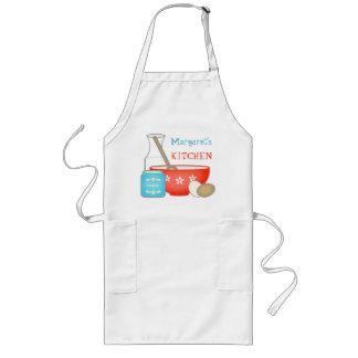 El delantal de encargo del panadero/del cocinero