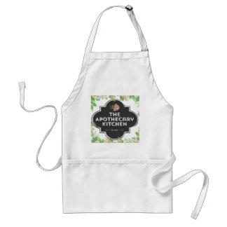 El delantal de la cocina del boticario