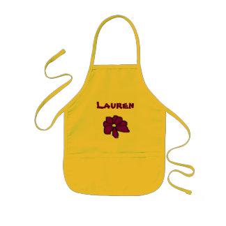 El delantal de Lauren