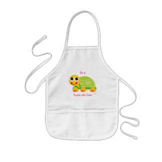 """El delantal de los niños de la tortuga """"sea cocine"""