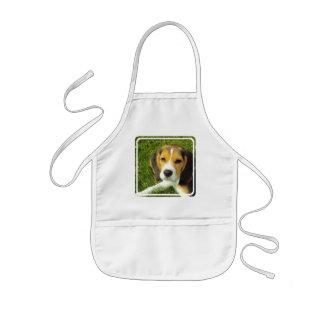 El delantal de los niños del beagle