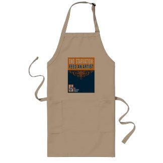 El delantal del artista/del cocinero