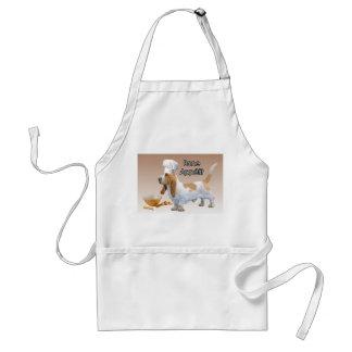 El delantal del cocinero de Appetit del hueso de B