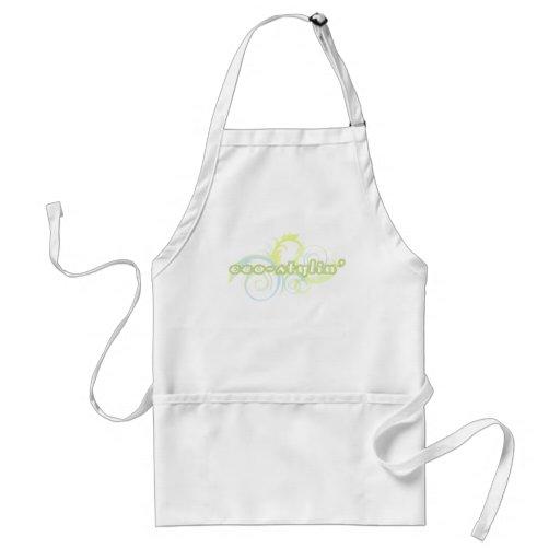 El delantal del cocinero de Eco-stylin