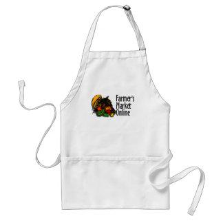 El delantal del cocinero en línea del mercado del