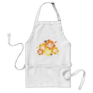 El delantal del cocinero épico del hibisco
