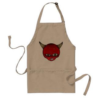 El delantal del diablo de la fresa