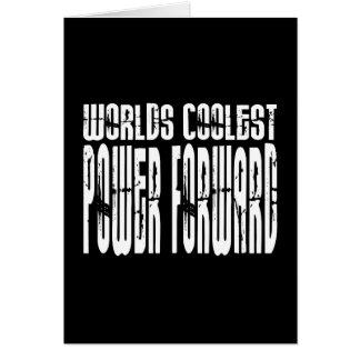 El delantero de poder más fresco de los mundos tarjetón