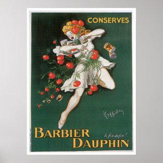 El delfín de Barbier conserva arte del anuncio de