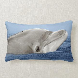El delfín sonriente cojín lumbar