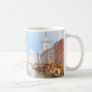 El della de Venecia, de Dogano y de Santa María Taza Básica Blanca