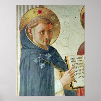 El delle Ombre, detalle de Madonna de St Dominic Póster