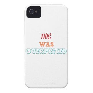 El demasiado caro iPhone 4 funda