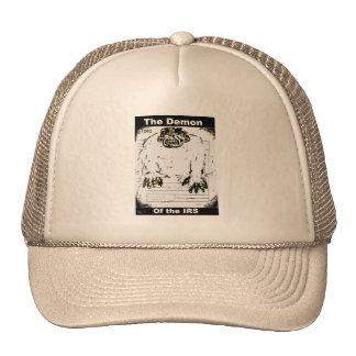 El demonio del gorra del camionero del IRS