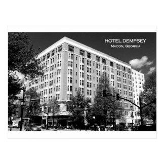 EL DEMPSEY DEL HOTEL, MACON, GEORGIA TARJETA POSTAL