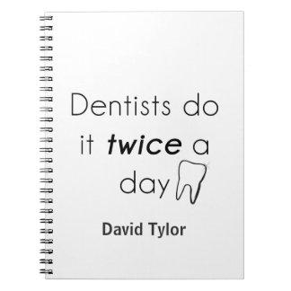 ¡El dentista lo hace! Cuadernos