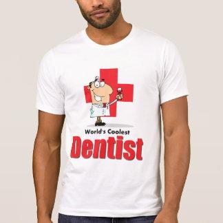 El dentista más fresco del mundo camisetas