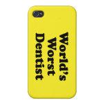 El dentista peor del mundo iPhone 4 protectores