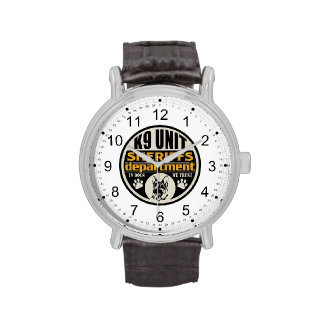 El departamento de sheriff de la unidad K9 Reloj De Mano