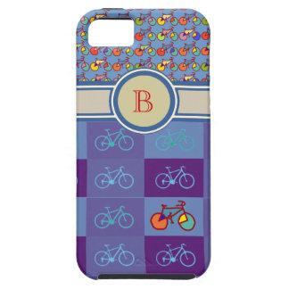 el deporte bikes el monograma del modelo iPhone 5 carcasas