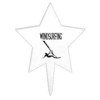 el deporte negro windsurfing del texto v3 windsurf decoraciones para tartas