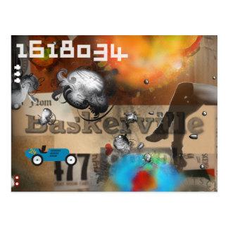 el der BATALLA postkarten Nº2 Postal