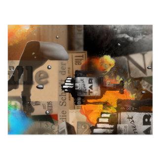 el der BATALLA postkarten Nº3 Postales