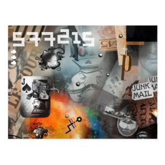 el der BATALLA postkarten Nº8 Postales