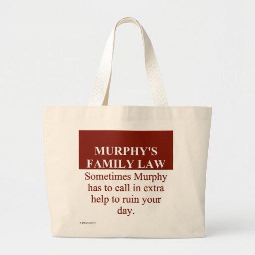 El derecho de familia de Murphy (3) Bolsa De Tela Grande
